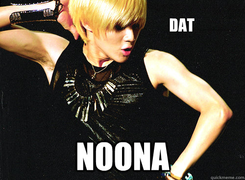 Dat Noona Taemin Meme Quickmeme