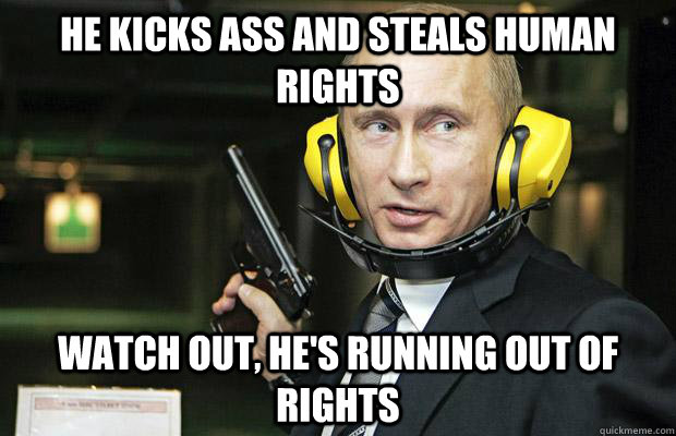 This Post Was Edited By Putin Badass Meme