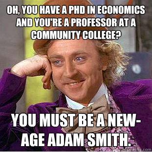 Phd in economics