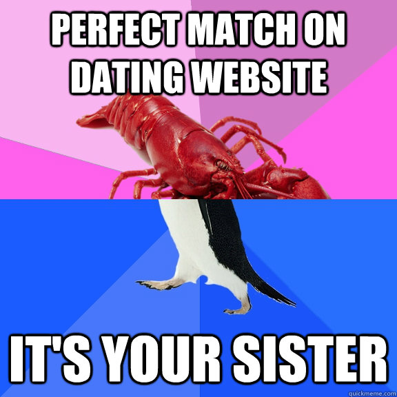 Dating your own sister