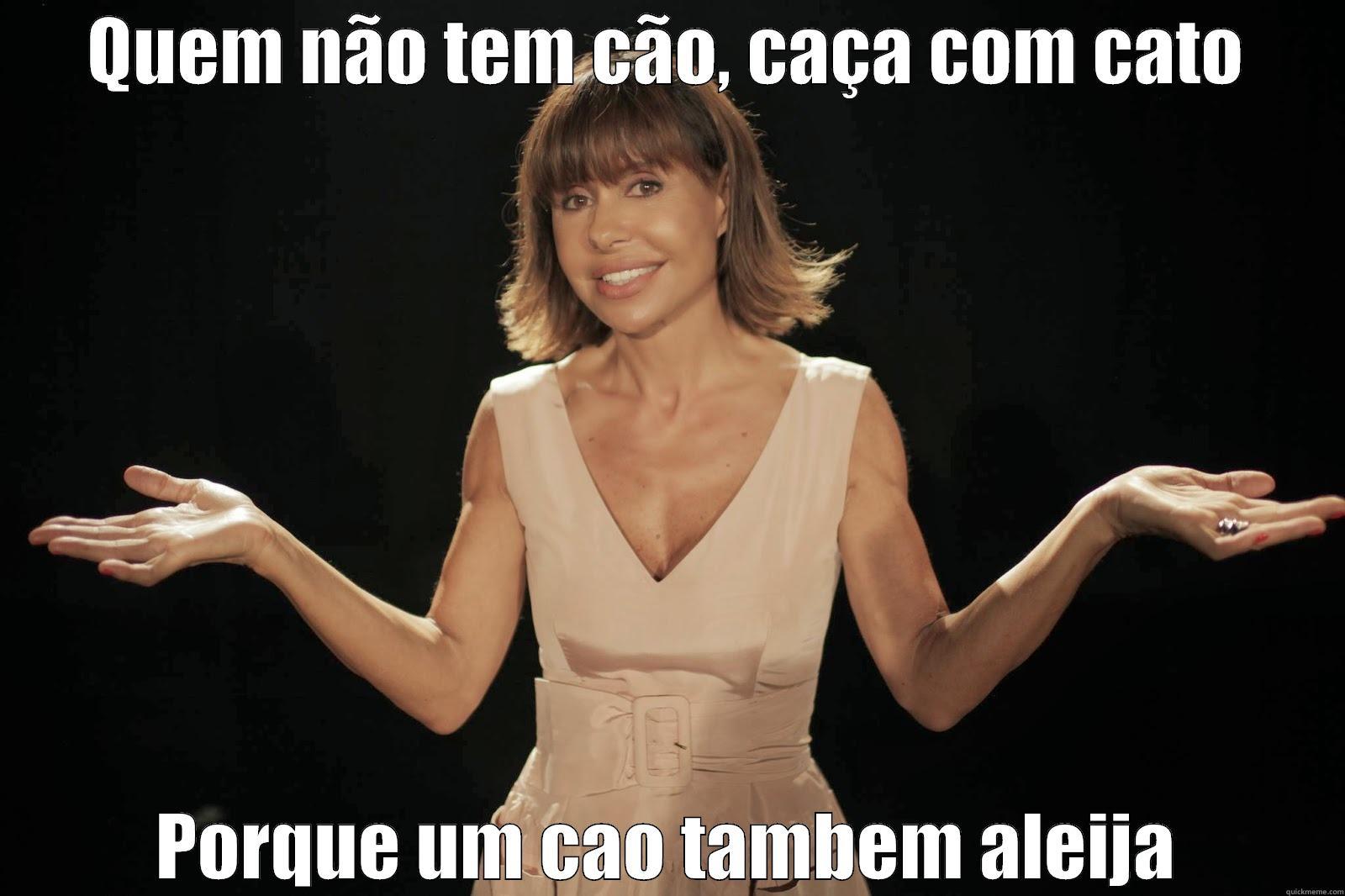Manuela Meme Guedes - QUEM NÃO TEM CÃO, CAÇA COM CATO PORQUE UM CAO TAMBEM ALEIJA Misc