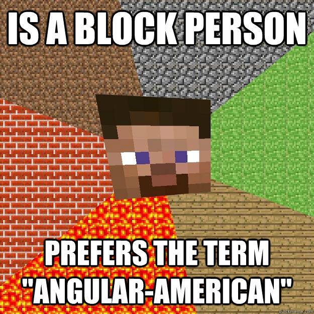Is a block person prefers the term