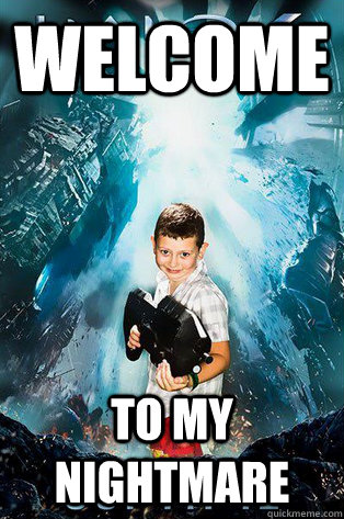 WELCOME TO MY NIGHTMARE - WELCOME TO MY NIGHTMARE  Halo 4 kid