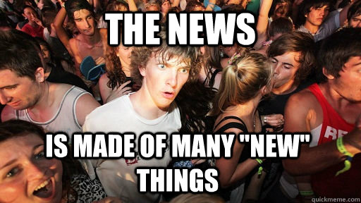 The NEWS is made of many