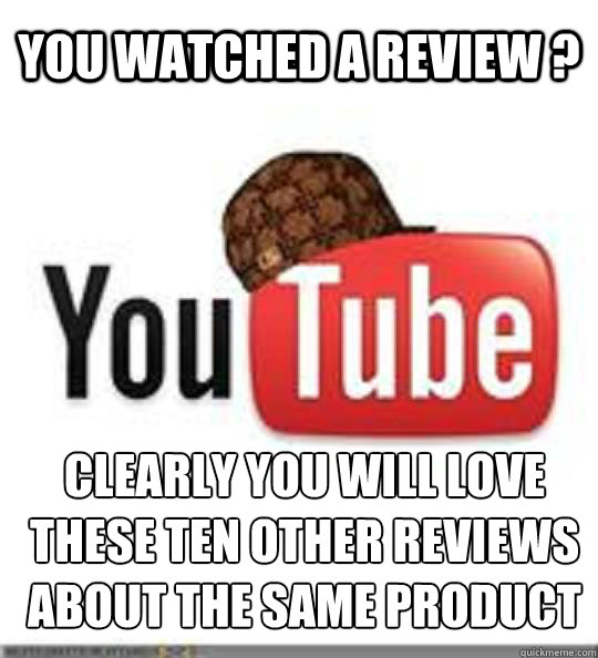 You watched a review ? Clearly you will love these ten other reviews about the same product Caption 3 goes here