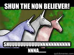 Image result for shun the nonbeliever