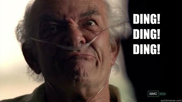 DING! DING! DING!  - DING! DING! DING!   Hector Salamanca - Breaking Bad - Face Off