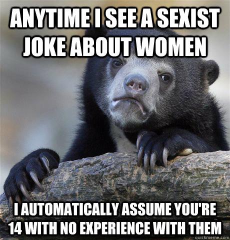 Funny Sexist Jokes #2