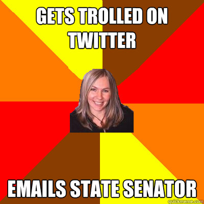gets trolled on twitter emails state senator