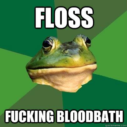 FLOSS FUCKING BLOODBATH - FLOSS FUCKING BLOODBATH  Foul Bachelor Frog