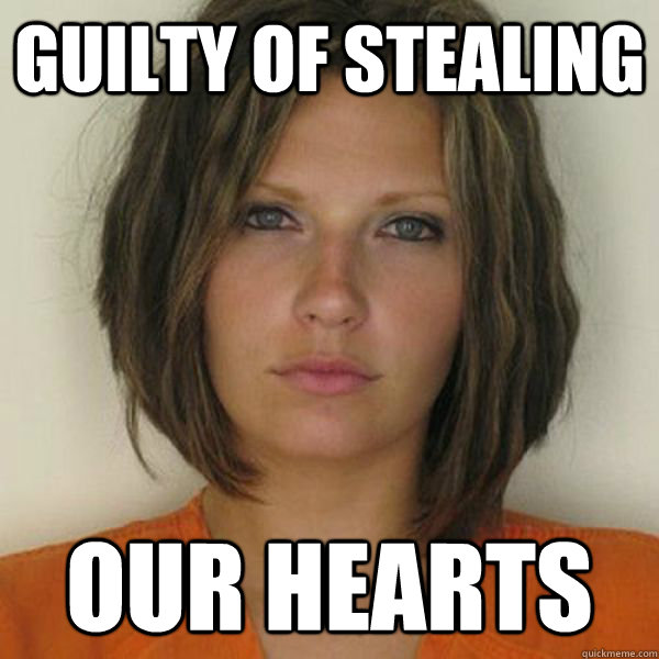 guilty of stealing our hearts - guilty of stealing our hearts  Attractive Convict