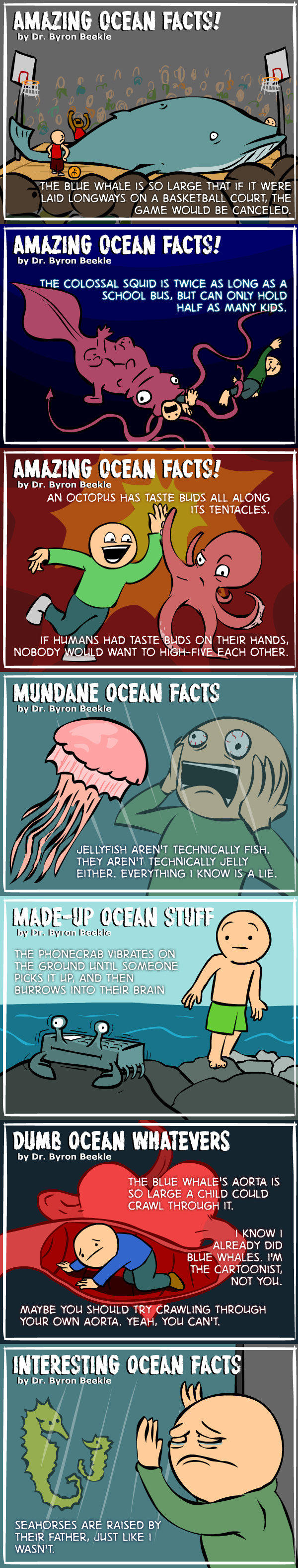 Real Ocean Facts. Broaden your minds, motherf&*@%s. -   Misc