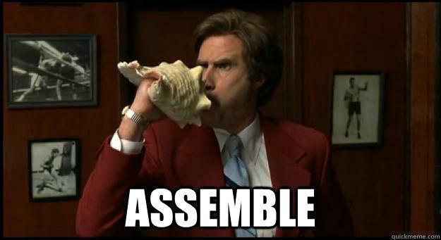 it s ratchet thursday assemble the team   assemble meme