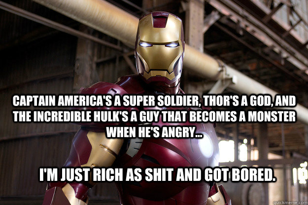 Captain Americas A Super Soldier Thors A God And The Incredible