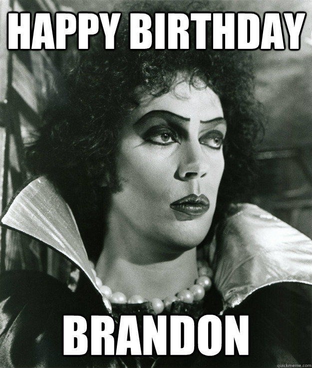 Happy Birthday brandon - Happy Birthday brandon  birthday card