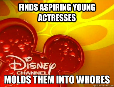 finds aspiring young actresses molds them into whores