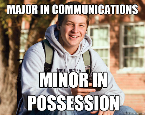 Communications 2 majors in college