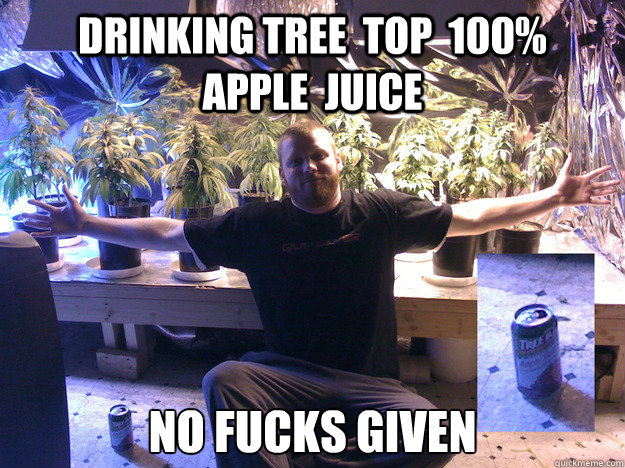 Drinking Tree  top  100%        apple  juice No Fucks Given - Drinking Tree  top  100%        apple  juice No Fucks Given  Misc