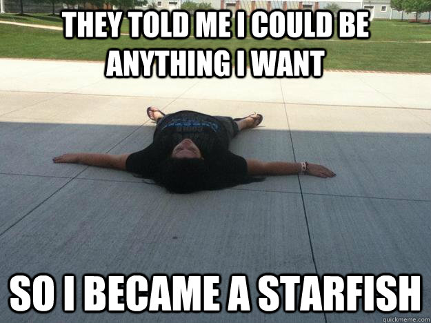 Image result for starfish meme