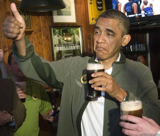 -    Upvoting Obama