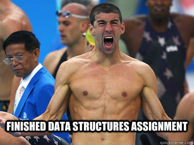 Finished data structures assignment