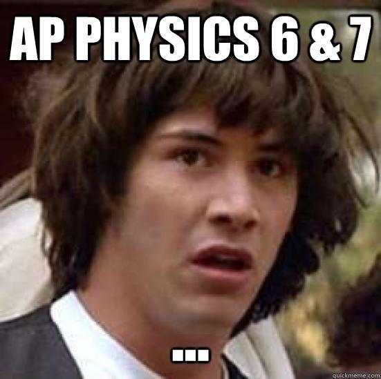AP Physics 6 & 7 ... - AP Physics 6 & 7 ...  conspiracy keanu