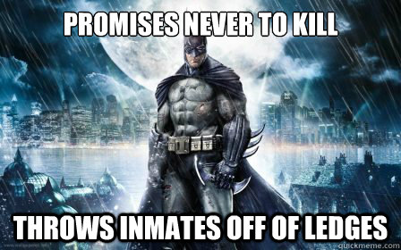 promises never to kill throws inmates off of ledges