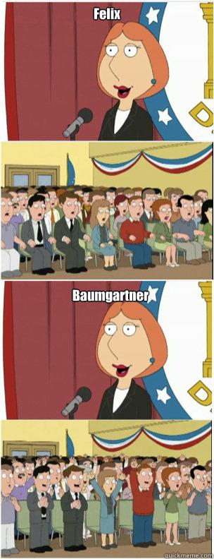 Felix Baumgartner - Felix Baumgartner  911 lois