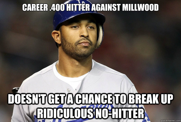 Career .400 hitter against Millwood doesn't get a chance to break up ridiculous no-hitter - Career .400 hitter against Millwood doesn't get a chance to break up ridiculous no-hitter  Misc