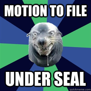 Motion to file UNDER SEAL