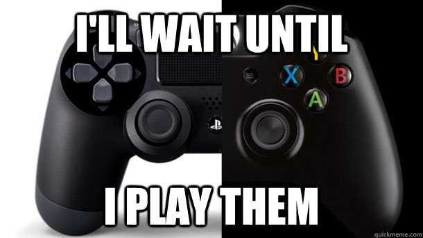 I'll wait until I Play them - I'll wait until I Play them  Misc