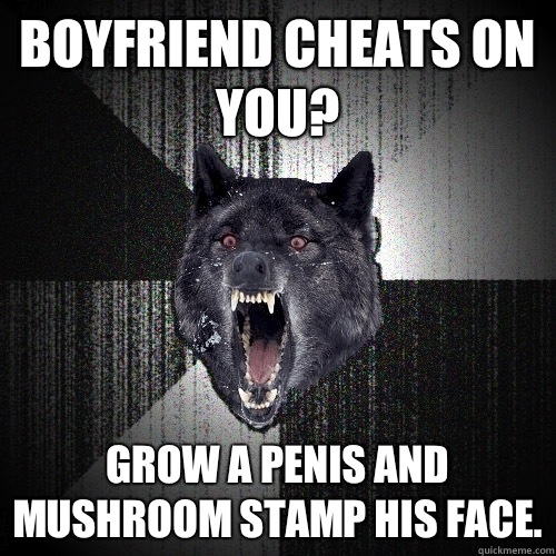 Grow A Penis And Mushroom Stamp His Face