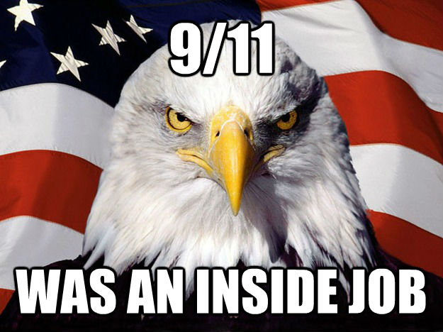 9/11 WAS AN INSIDE JOB - 9/11 WAS AN INSIDE JOB  Evil American Eagle