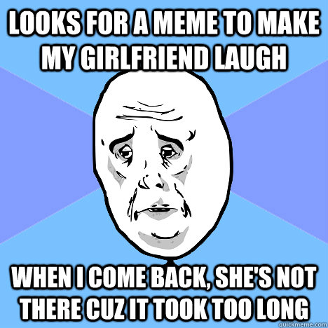 make your girlfriend laugh