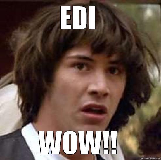 EDI WOW!! conspiracy keanu