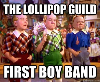The Lollipop Guild First Boy Band