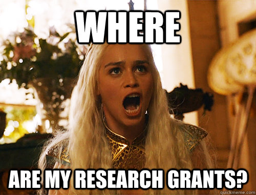 where are my research grants?