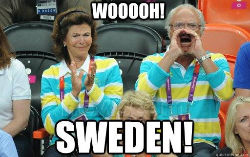 wooooh! Sweden!