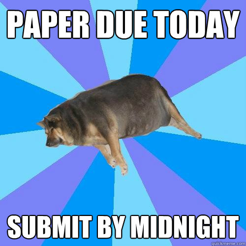 due now essays
