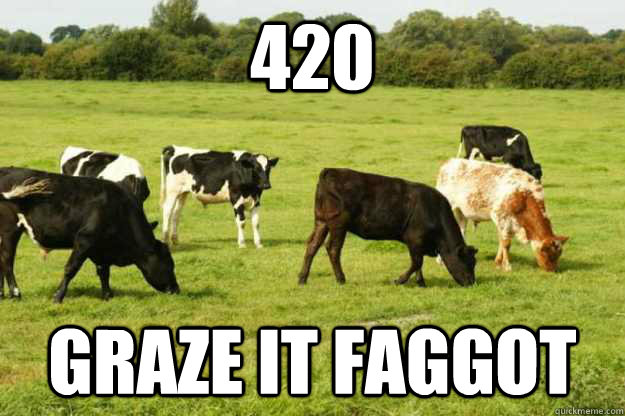420 Graze It Faggot - 420 Graze It Faggot  Misc