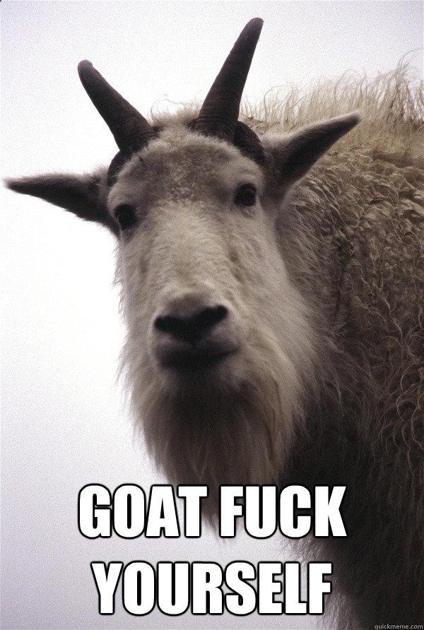 Goat fuck