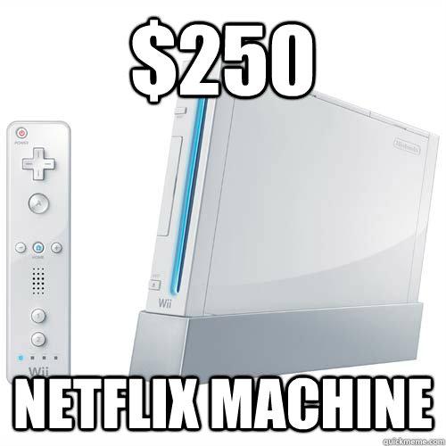 $250 Netflix machine - $250 Netflix machine  Misc