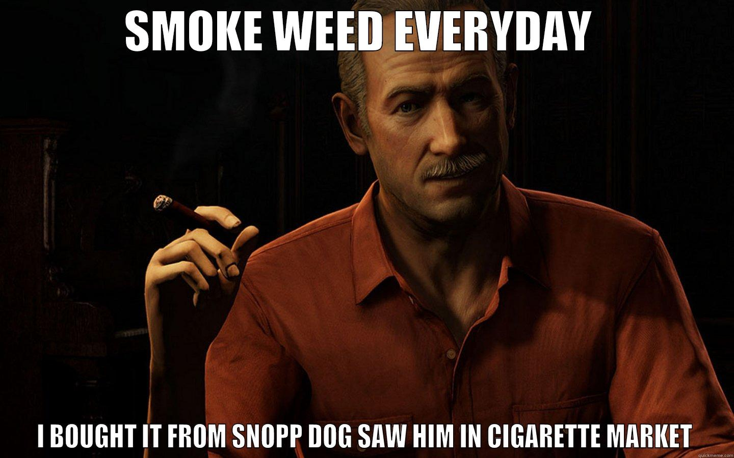 Victor Sullivan - SMOKE WEED EVERYDAY  I BOUGHT IT FROM SNOPP DOG SAW HIM IN CIGARETTE MARKET Misc