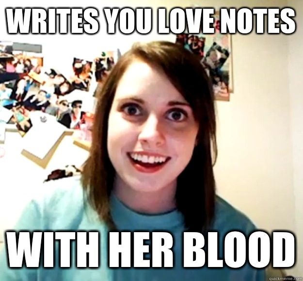 Writes you love notes With her blood - Writes you love notes With her blood  Misc