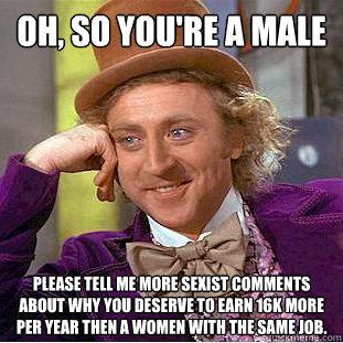 sexist male meme