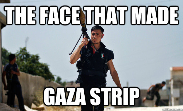 the face that made Gaza Strip - the face that made Gaza Strip  Misc