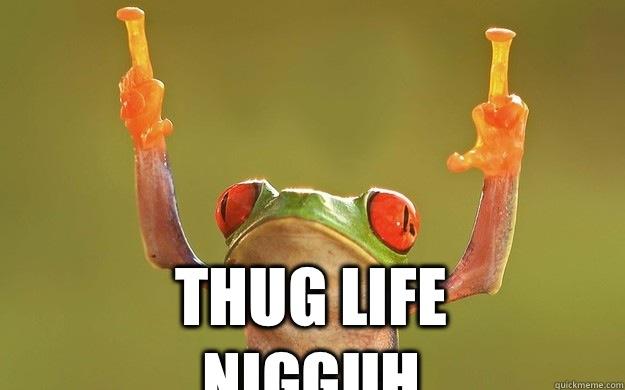 Thug Life Nigguh