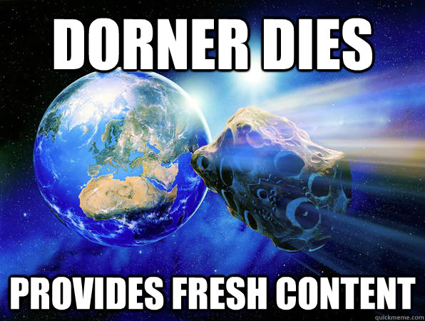 DORNER DIES PROVIDES FRESH CONTENT - DORNER DIES PROVIDES FRESH CONTENT  Earth-Friendly Asteroid