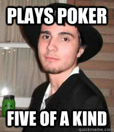 five of a kind poker