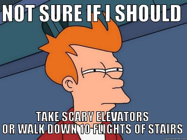 89dbcd5f5eecdf941e3914cd515f6d08c3dfaf83ead5b8780fd0bfe8d10530a7 death by elevator or death by stairs quickmeme